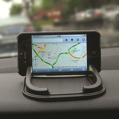 Interior Car Dashboard Anti Slip Grip All Mobile Phone Sat Nav & Gadget Holder