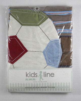 NEW Kidsline Animal All Stars Nursery Sports Diaper Stacker