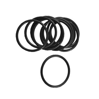 10pcs Black Rubber Oil Filter Seal O Rings Gaskets 50mm X 48mm X 1mm