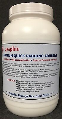 Padding Adhesive White Premium One Coat Quick Drying New 1 Gallon