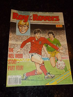 ROY OF THE ROVERS - Year 1989 - Date 09/09/1989 - UK Paper Comic