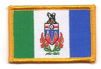 Ecusson Brodé PATCH drapeau MANITOBA   CANADA FLAG PATCH EMBROIDERED