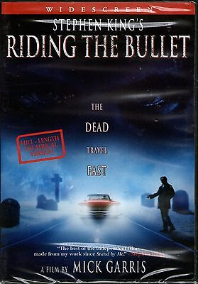 Riding The Bullet-Stephen King- DVD-R1-BRAND NEW-Still Sealed-Horror