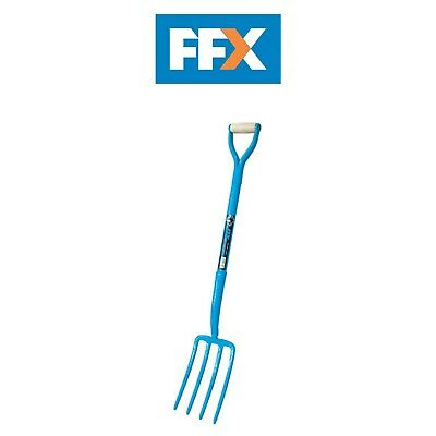 Ox Tools T281001 Trade Solid Forged 4 Prong Fork