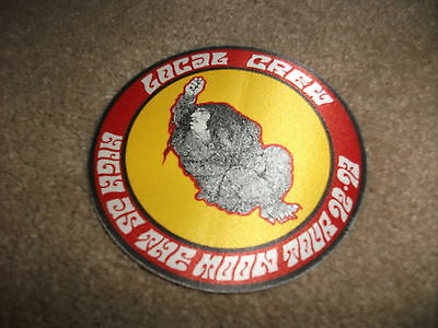 BLACK CROWES 1992-93 HIGH AS THE MOON TOUR Local PASS Backstage Tour Concert