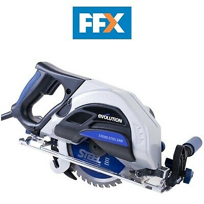 Evolution EVO180 Steel / Metal Cutting Circular Saw 110v