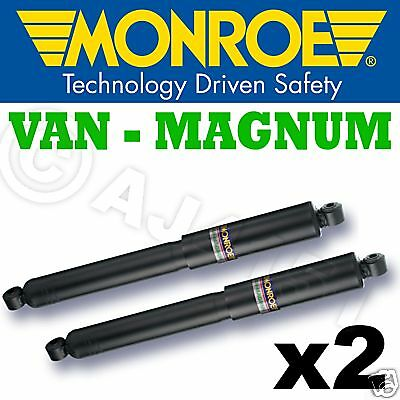 2x Monroe MAGNUM FRONT Shocks IVECO DAILY S2000 99on 35c 40c Multi Link Susp.