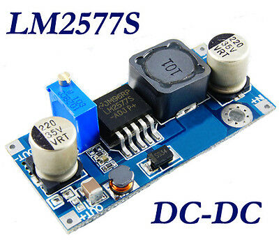 New DC-DC Adjustable Step-up Power Converter Module DC to DC LM2577