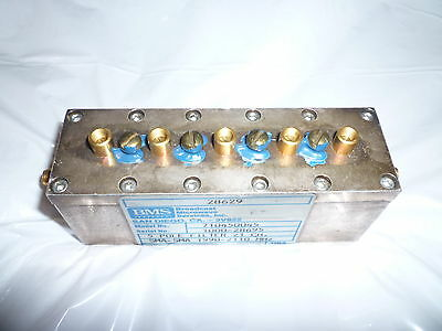 Bms Broadcast Microwave Filter 710450045
