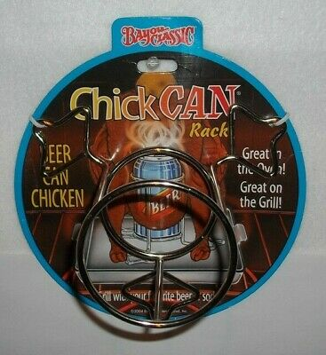 New Chick Can Rack~Grill~Oven~Beer~Soda~Bayou Classic