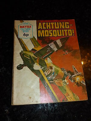 BATTLE PICTURE LIBRARY - No 621 - Date 1972 - UK Picture Comic Storybook