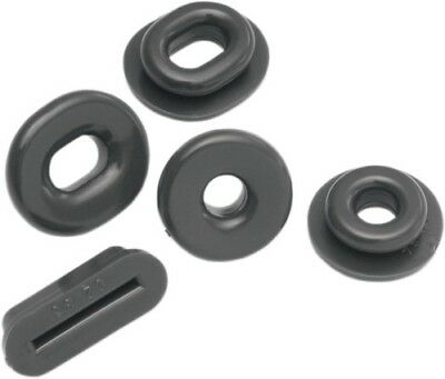 Show Chrome Replacement Black Grommets Honda 52-691 41-7410 BB52691