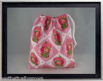 Gymnastics Leotard Grip Bags / Strawberry Shortcake Gymnast Birthday Goody Bag