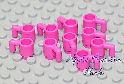 Translucent TRANS PINK CUP Minifig Kitchen Dishes Minifigure NEW Lego 2X