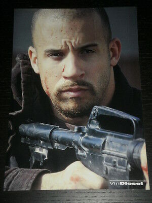 Vin Diesel - Celebrity Clipping 1 Full Page - Spanish Magazine - 0575