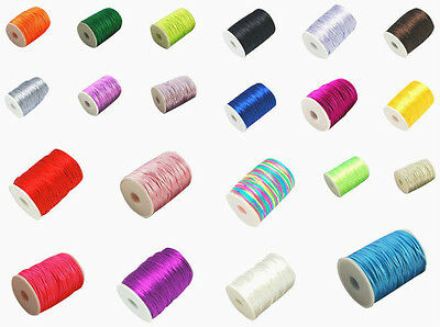 Approx.10M of Premium Quality - Rattail Satin Cord - KUMIHIMO - 2mm - lady-muck1