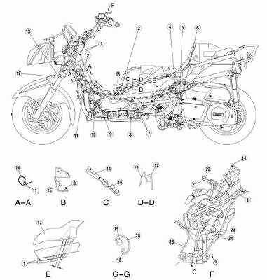 Manuale Officina Yamaha Majesty Yp 250(P) (2002-2006) Usare Riparare Moto