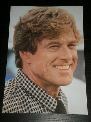 Robert Redford - Celebrity Clipping 1 Full Page - Spanish Magazine - 0689