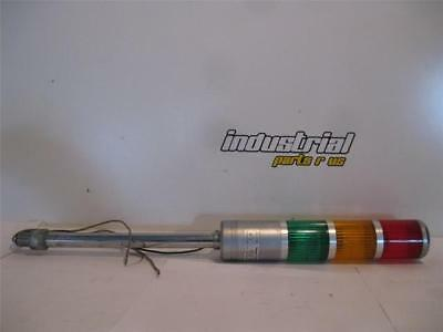 Patlite ST-V Signal Tower Red/Amber/Green 100 VAC Bulb is 110V 15W