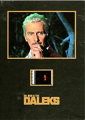 "DR WHO & THE DALEKS Movie 5""x7"" SENITYPE FILM CELL + PHOTO-Doctor"