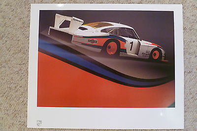 1978 Porsche 935 Moby Dick Showroom Advertising Sales Poster RARE Awesome 23x18