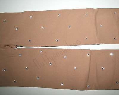 80 DEN INTERMEZZO over boot SKATING TIGHTS  AB CRYSTALS* LIGHTER COLOUR* WARMER