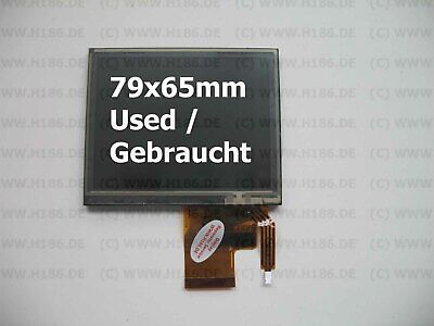 "3,7"" 79 x 65mm Display Garmin ZUMO 400 450 500 550 Rev.1 used / gebraucht"