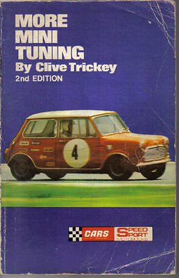 More Mini Tuning by Clive Trickey Speedsport 1970 2nd edition