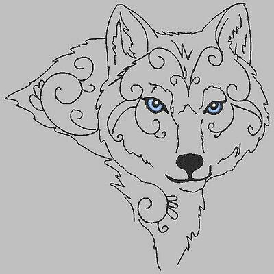 Beautiful Huskies - 30 Machine Embroidery Designs (Azeb)