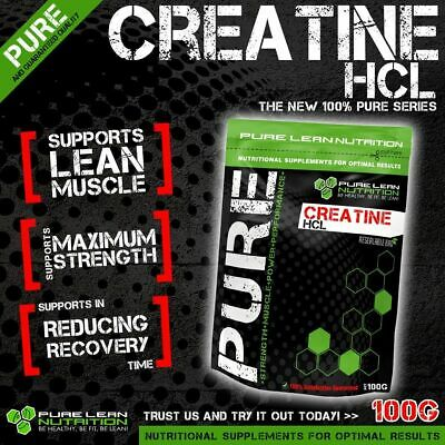 Creatine HCL Strongest Creatine Pre Workout Strength Highest Concentrated