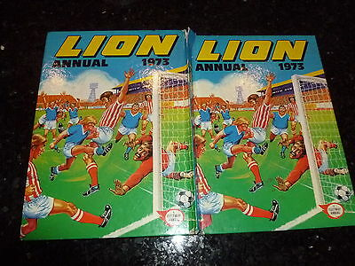 LION Annual - Year 1973 - UK Annual - With Price Ticket Intact