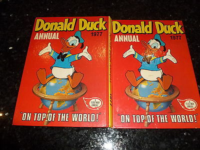 DONALD DUCK - 1977 ANNUAL - (Price tag Intact)