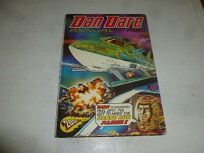 DAN DARE ANNUAL - 1980 - UK Fleetway Annual