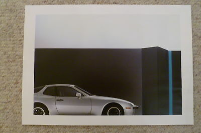 1983 Porsche 944 Coupe Showroom Advertising Sales Poster RARE!! Awesome L@@K