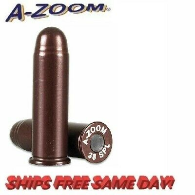 A-Zoom Precision  Metal Snap Caps for 38 Special  #16118  6 per Pack   New !