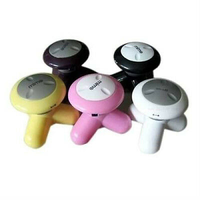 USB Electric Massage Handled Vibrating Mini Body Massager with Smooth Plastic