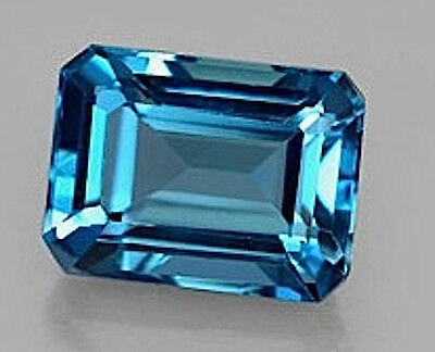 Masterpiece Collection: Octagon Genuine (Natural) London Blue Topaz (5x3-14x10)