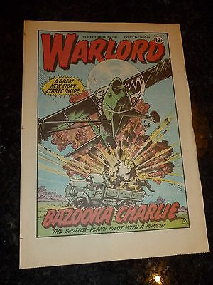 WARLORD Comic - Issue 366 - Date 26/09/1981 - UK Paper Comic