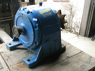 Used Link-Belt In-Line Helical Gear Speed Reducer 2945Y154P Ratio 292 Eti