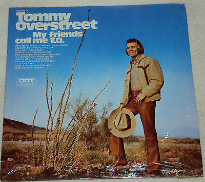 Tommy Overstreet My Friends Call Me T.O. Sealed LP