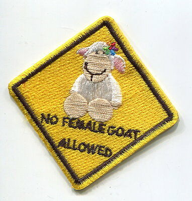 ELITE FRENCH FOREIGN LEGION SPECIAL FORCES BARRACK SIGN: No Female Goat Allowed