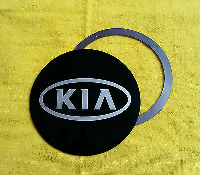 Magnetic Tax Disc Holder fits kia silver logo