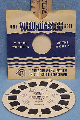 Vintage The Butchart Gardens Victoria BC Canada ViewMaster View Master 1 Reel