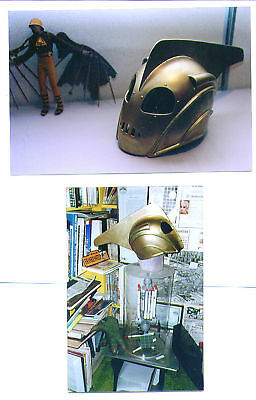 Photos from the FORREST ACKERMAN COLLECTION two pictures of the ROCKETEER helmet