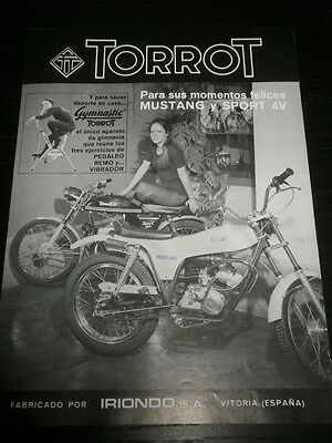 Torrot Mustang Sport  - Motorcycle Moto -  Ad Publicite Anuncio - Spanish - 2017