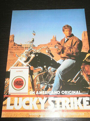 Lucky Strike Tobacco Tabac Tabaco -  Ad Publicite Anuncio - Spanish - 2148