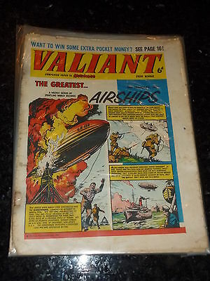 VALIANT Comic - Date 30/01/1965 - IPC UK Comic
