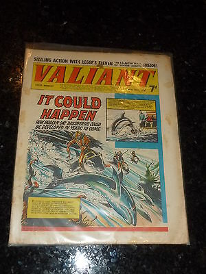 VALIANT Comic - Date 20/05/1967 - UK Fleetway Paper Comic