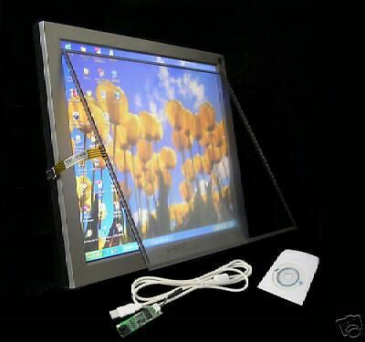 17inch LCD Touchscreen touch screen Panel Kit(16:9) good for windows XP Vista W7