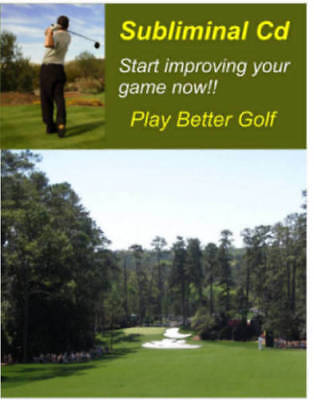 Golf Subliminal Cd Improve Your Game Now